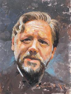 Russell Crowe Art
