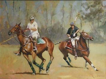 William Rees Art Polo Windsor
