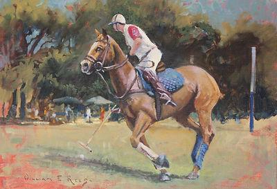 William Rees Art Equine Polo