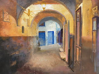 Art Tangier William Rees