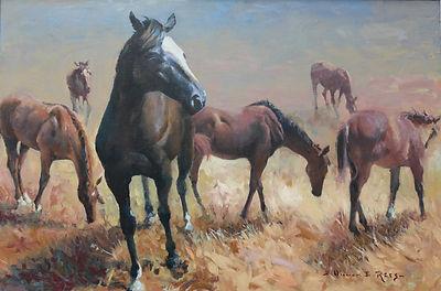 William Rees Equine Art