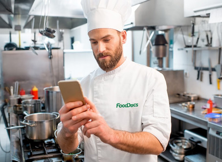 Use FoodDocs App for your monitorings