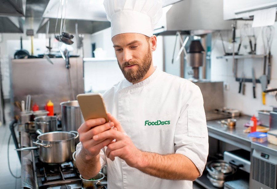 Chef uses FoodDocs App to manage HACCP system more easily