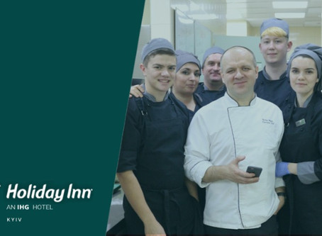 "Executive Chef of Holiday Inn Kyiv: ""My life has changed since I started using FoodDocs!"""