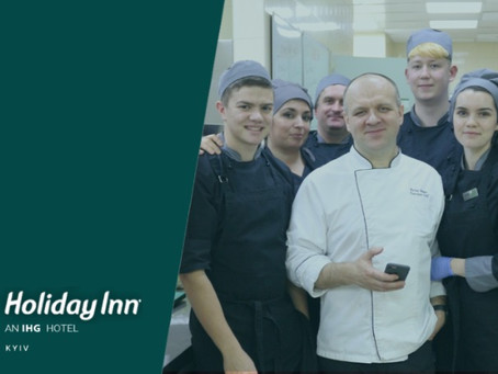 """Executive Chef of Holiday Inn Kyiv: """"My life has changed since I started using FoodDocs!"""""""