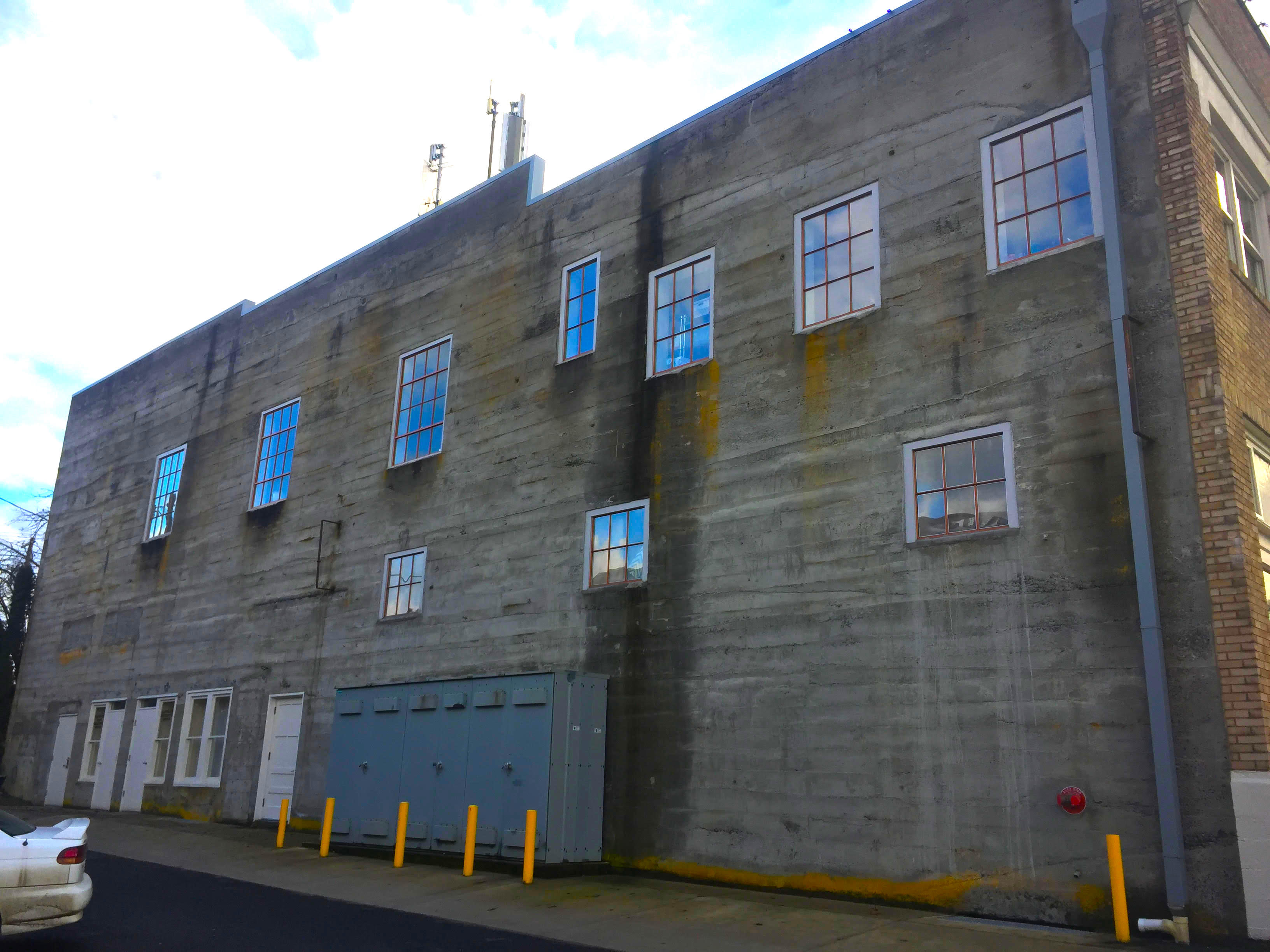 Historic Steel Pane Windows