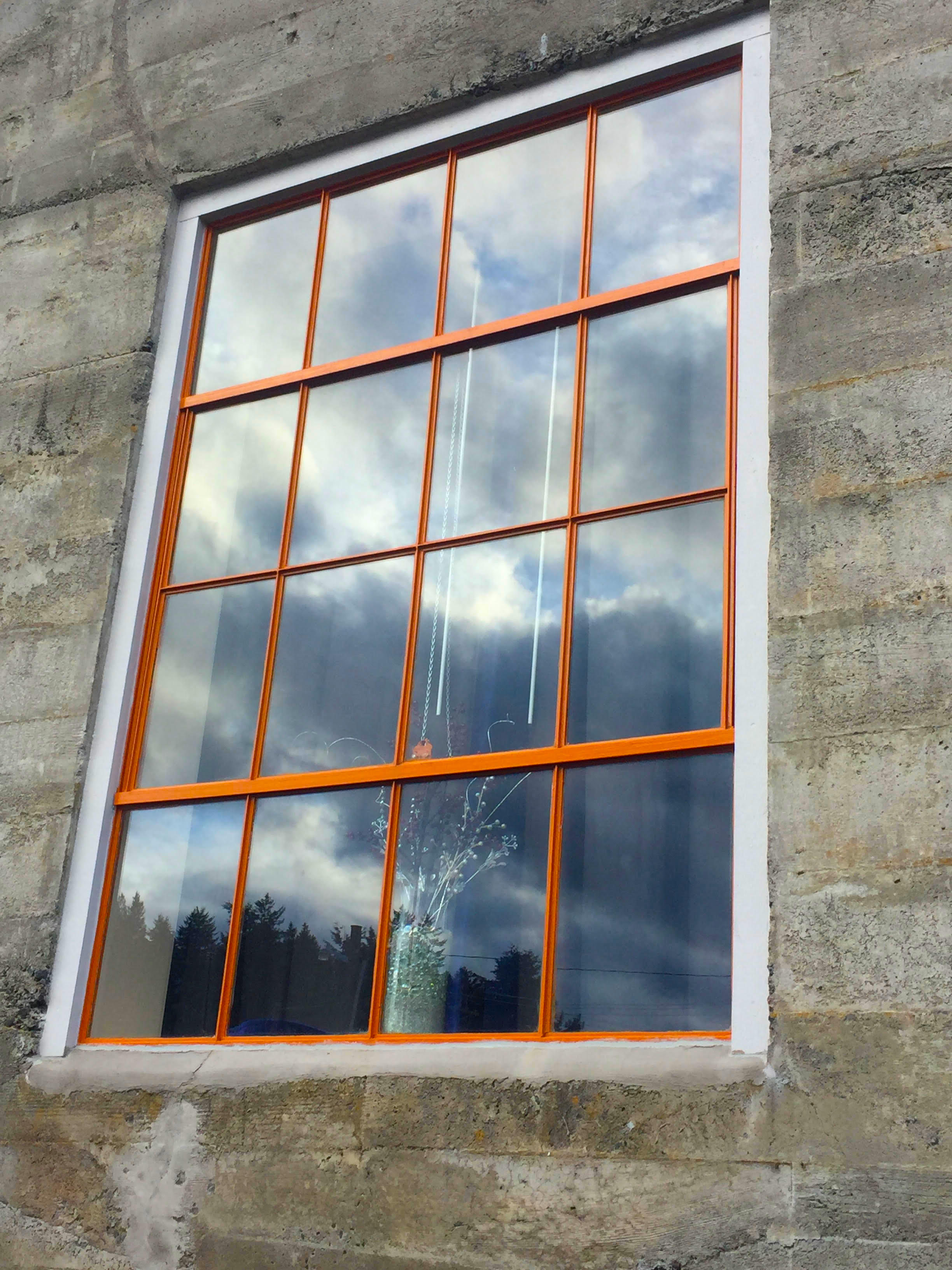 Steel Pane Windows - AFTER