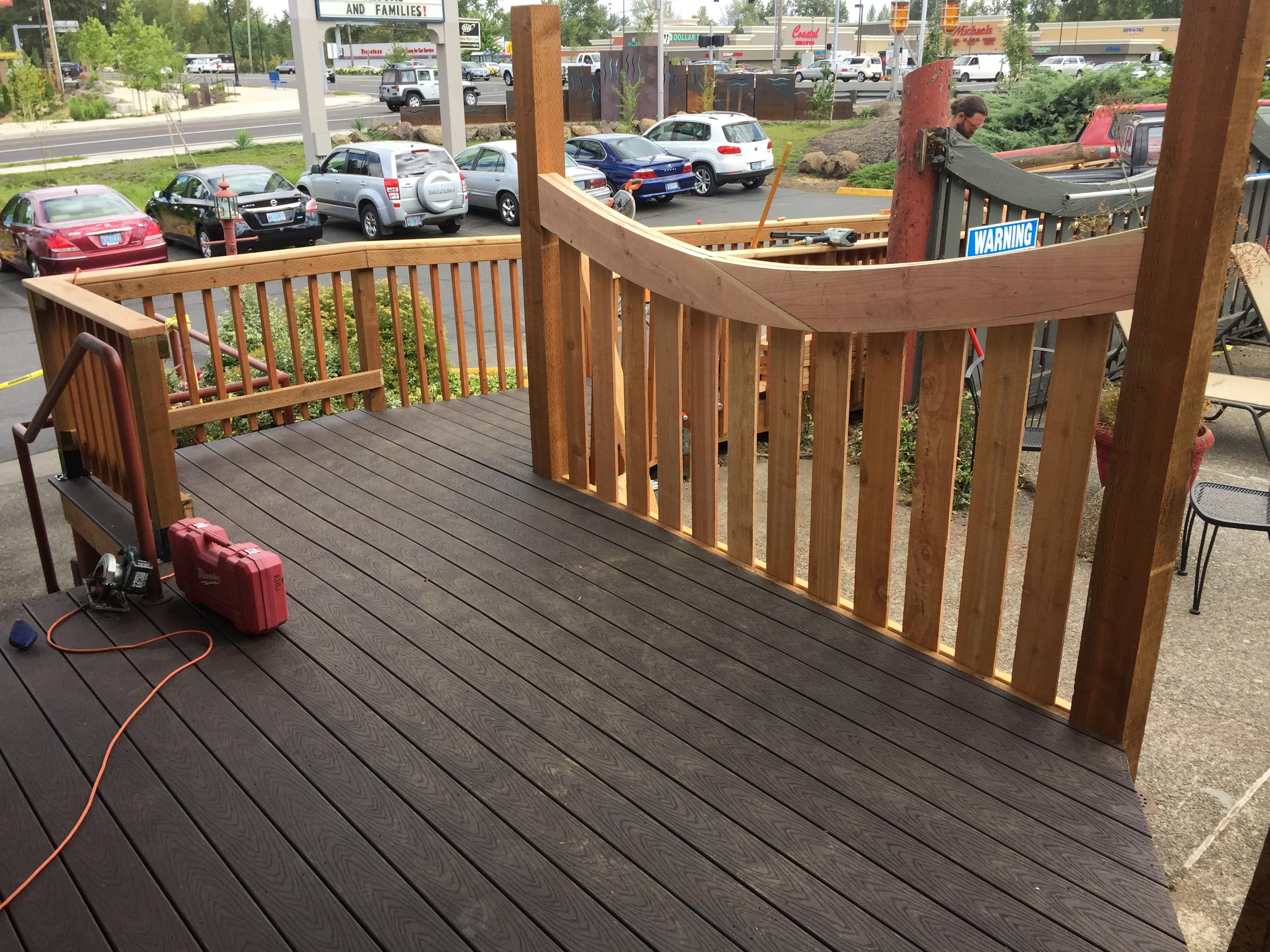 Deck/Railing