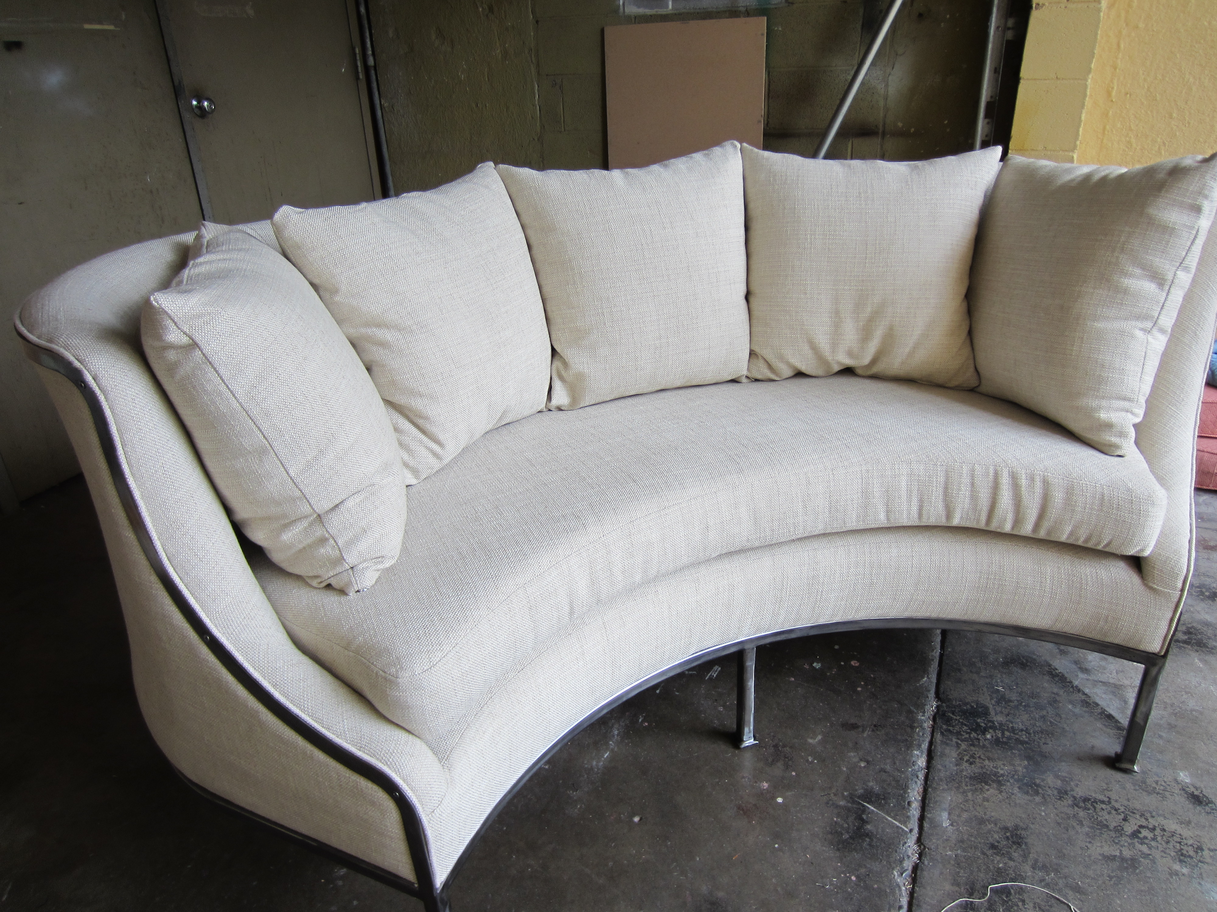Steel Frame Sofa
