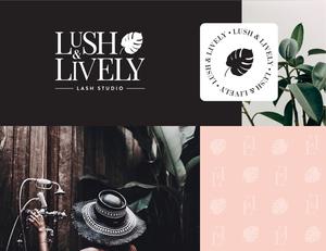 Lash Studio Branding Elements