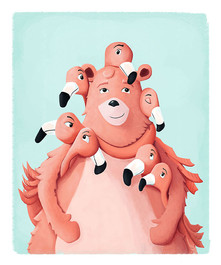 bear and flamingoes.web.jpg