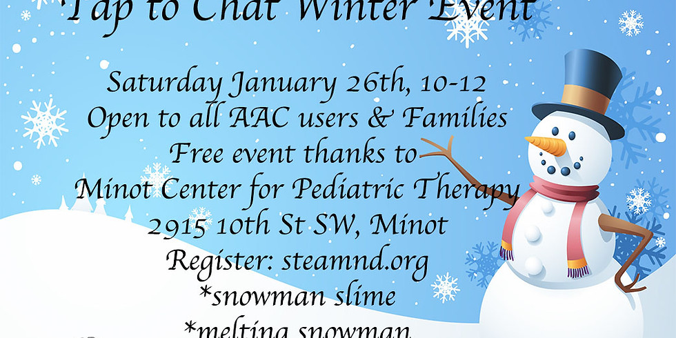 Snowman Science: Free Tap to Chat Event