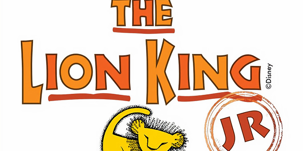 Lion King Junior the Musical Auditions