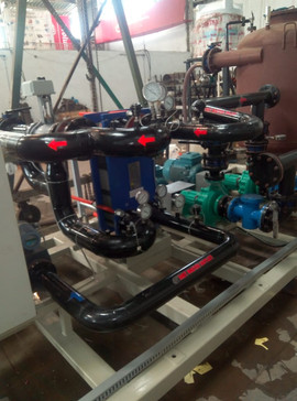 Cooling skid of 1000kW Thermal Capacity