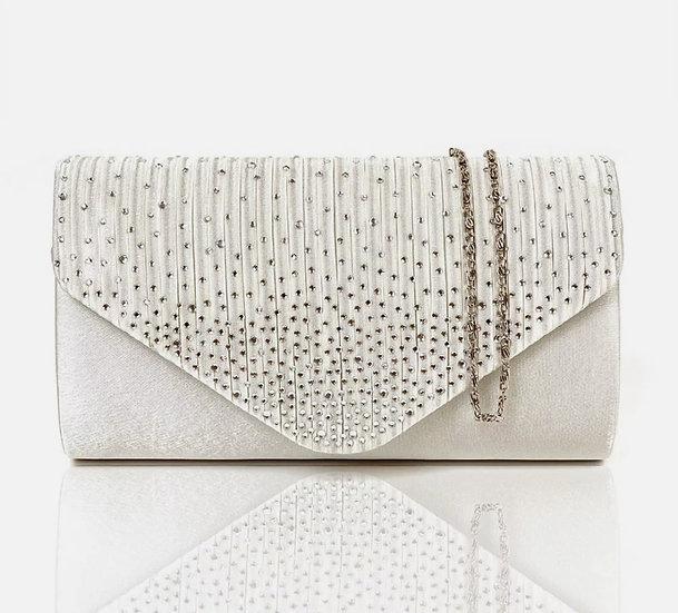 Diamante Party Clutch Handbag
