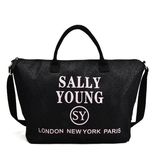 Sally Young Cross Body Travel Bag in Black