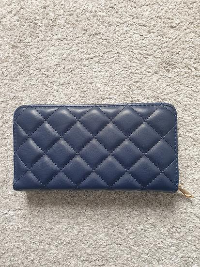Long Wallet With Lattice Design Various Colours
