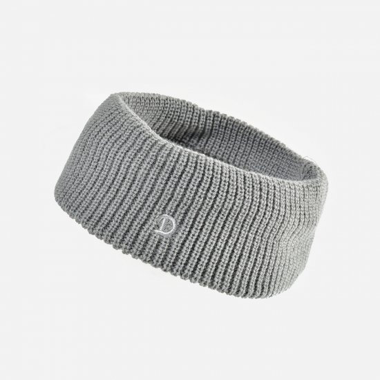 AutumnWinter sports headband embroidered with D pattern