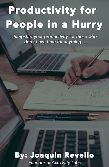 Productivity for People is a Hurry Cover