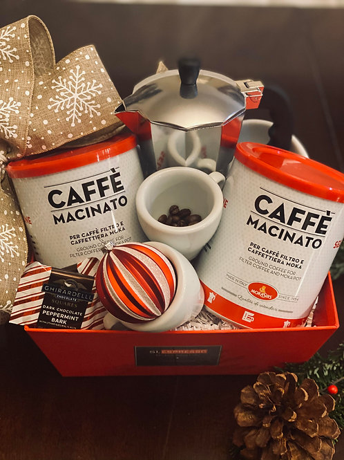 Holiday Gift Box - The Art of Italian Coffee