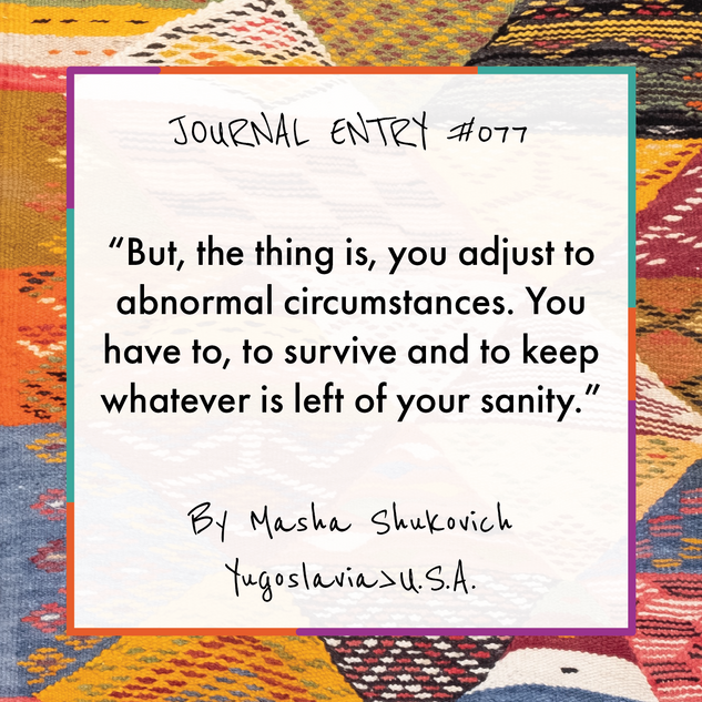 Journal Entry #077