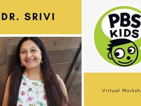 Dr. Srivi Leads PBS Kids Workshop on Inclusion