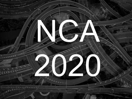 Dr. Srivi's NCA 2020 Presentations