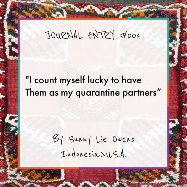 Journal Entry #004