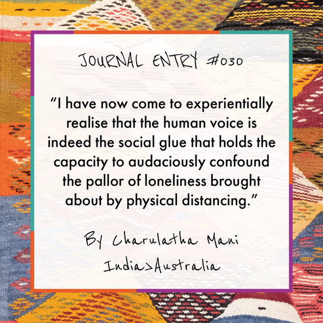 Journal Entry #030