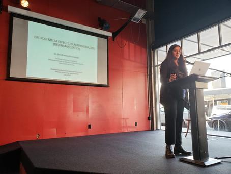 My talk on Critical Media Effects at New Zealand's Massey University