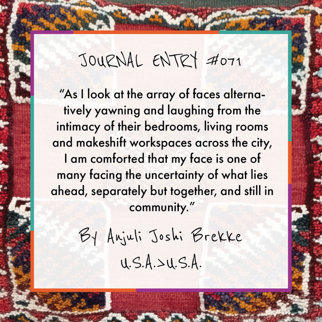 Journal Entry #071