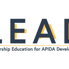 IInaugural Leadership Education for APIDA Development (LEAD)