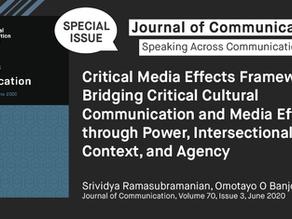 Critical Media Effects: Social Scientific Theorizing, #CommSoWhite, and Legitimizing BIPOC Voices