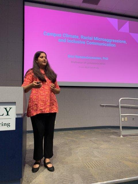 Talk at CalPoly: Photo credit Anu Dhillon