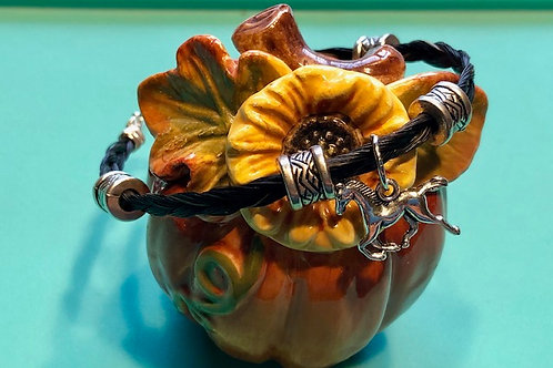 Horsehair Bracelet - Freedom Reigns Ranch Session Horse's Hair