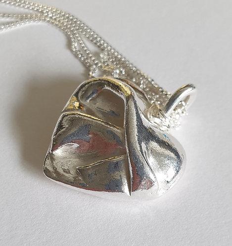 Silver Heart Folds