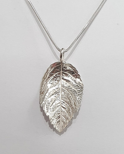 Silver leaf rounded