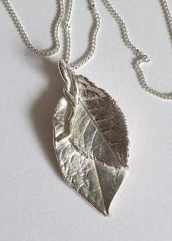 Large and Small Double Leaf