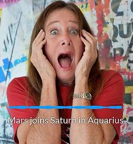 Mars joins Saturn in Aquarius for 6 weeks