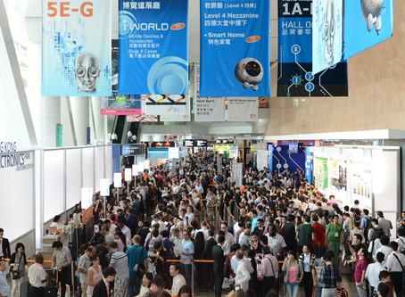 A Feira de Eletrônicos da HKTDC