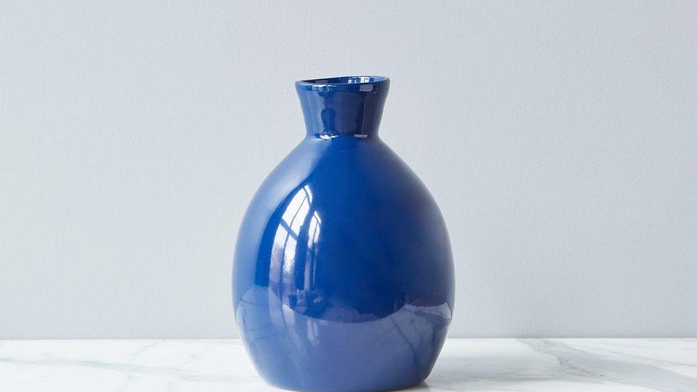 Navy Artisanal Vases