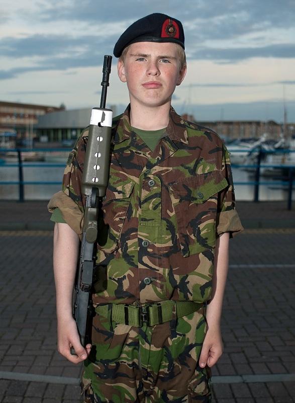 591161. Royal Marine Cadet