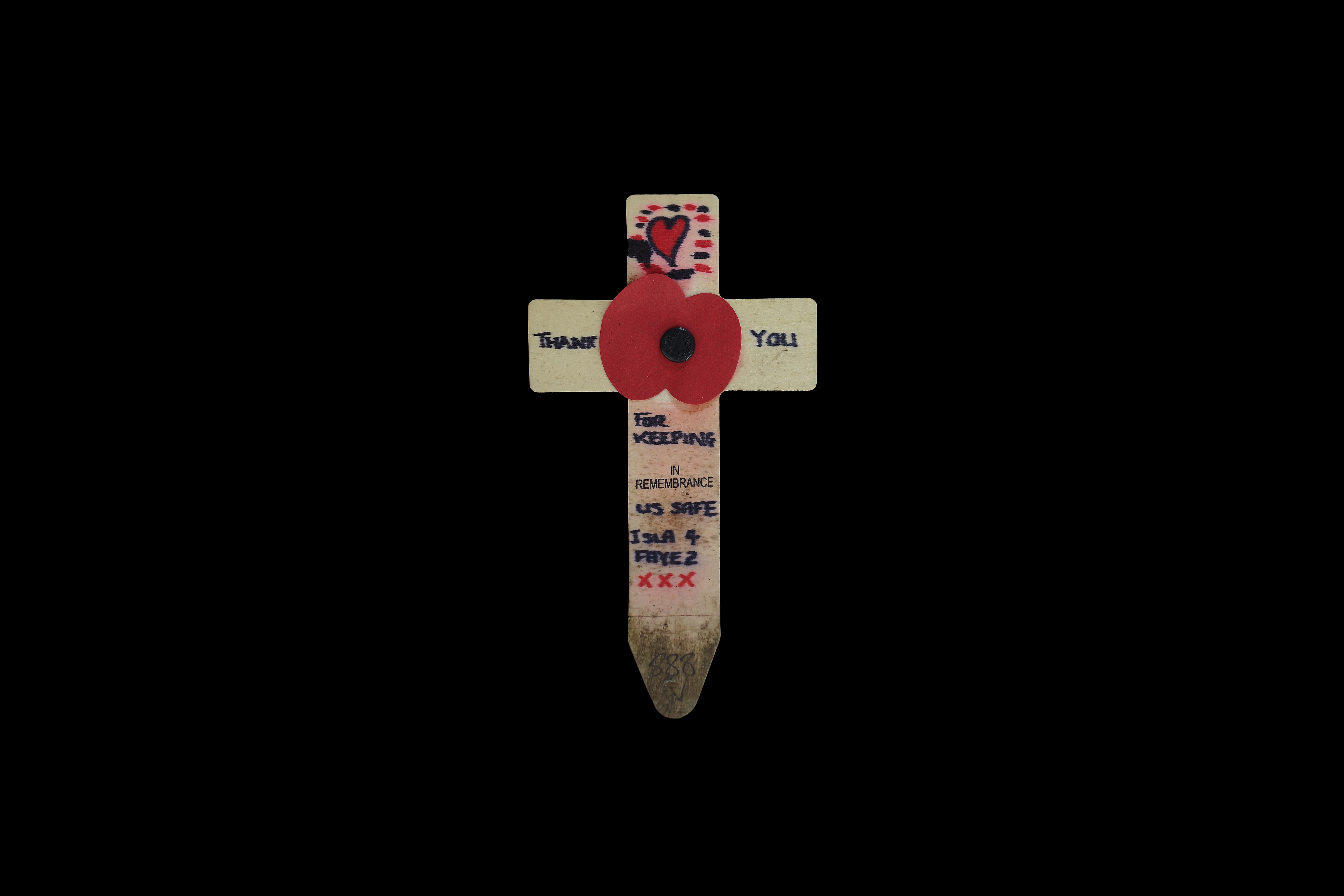 Remembrance cross #16
