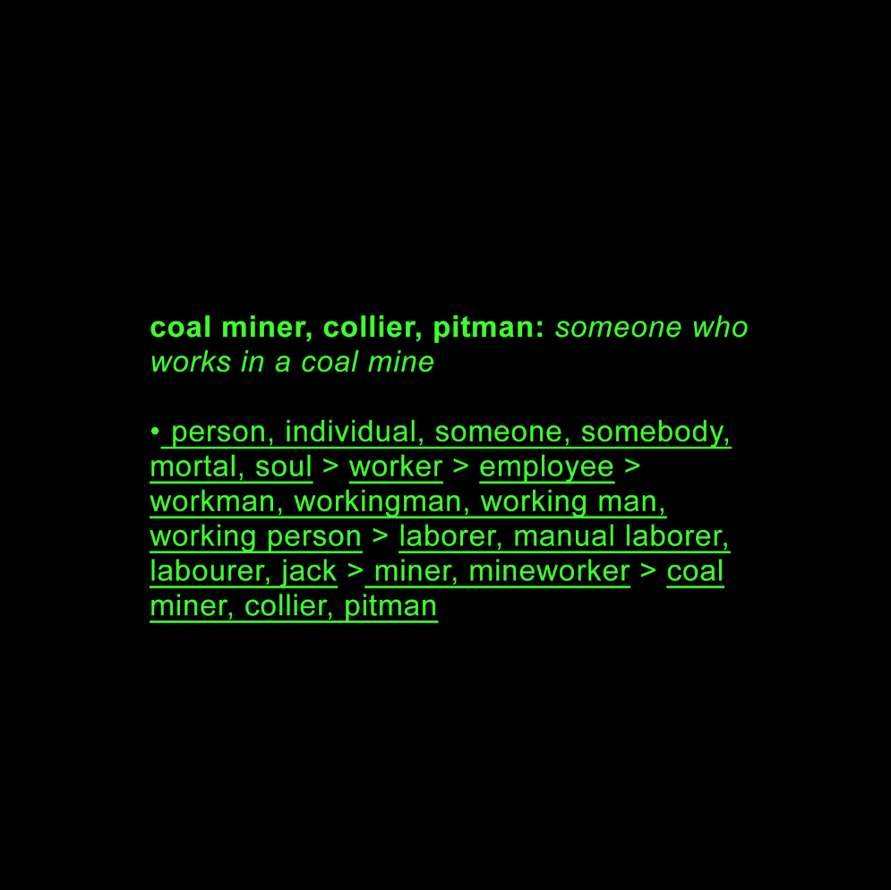 coal miner AI data-set return