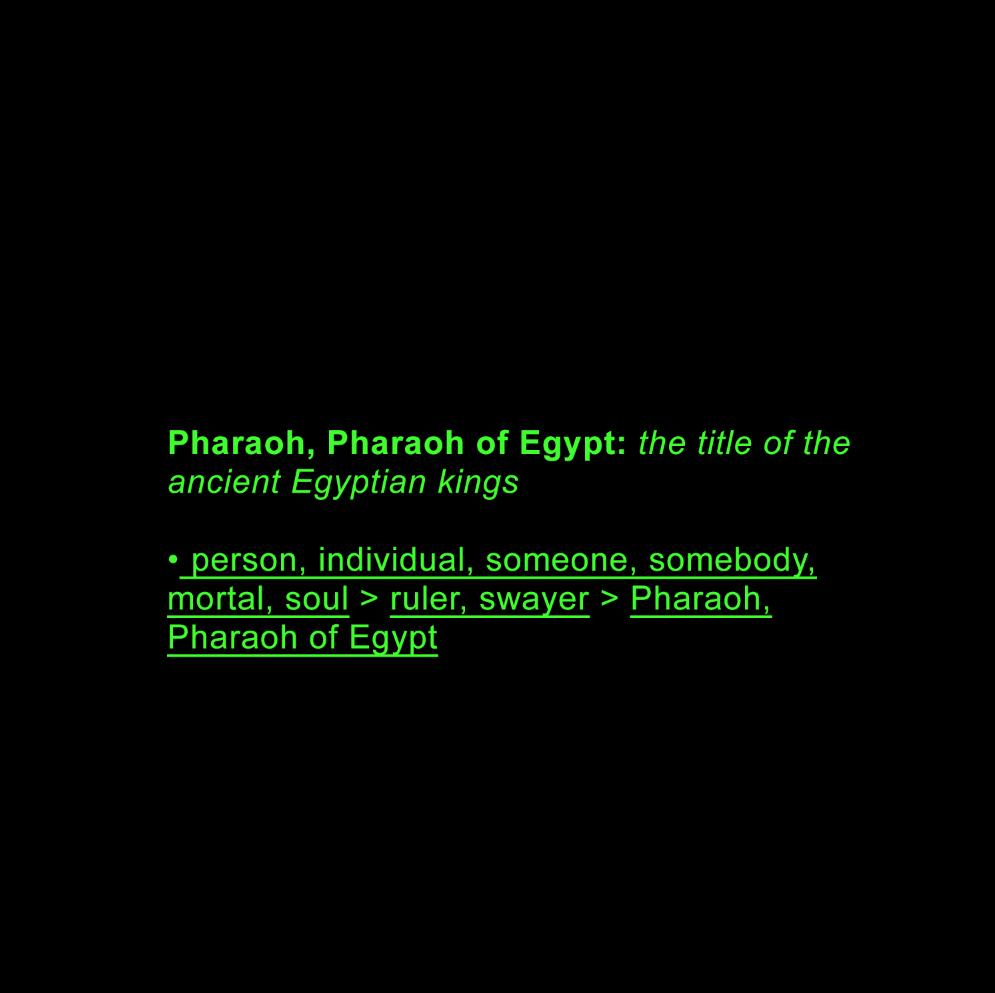 Pharaoh AI data-set return