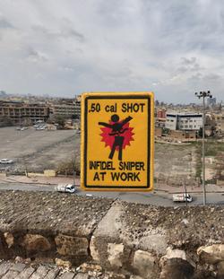 Infidel Sniper at Work