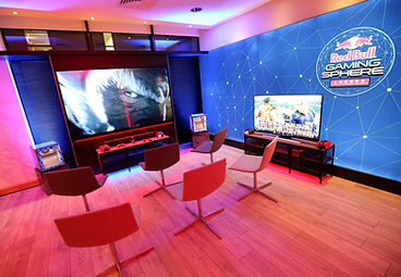 Red Bull Gaming Sphere Pop Up