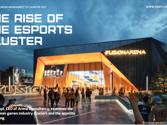 The Rise of the esports cluster