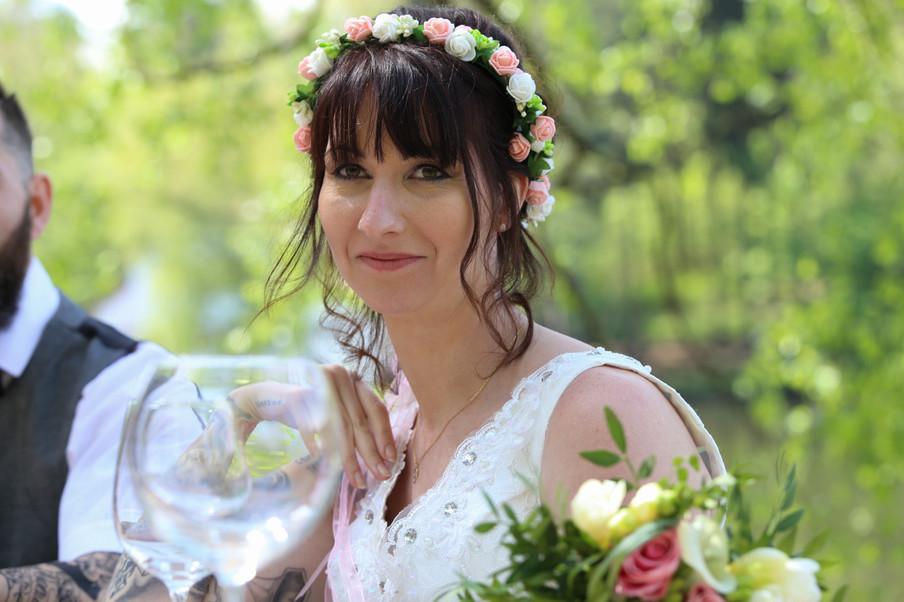 Couronne de fleurs / Bouquet de fleurs / Mariage