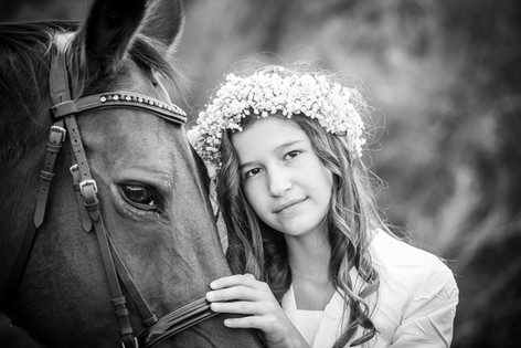 Communion - chevaux - Sarreguemines
